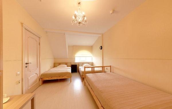 №31 Двухместный номер с двумя кроватями + доп. кровать.