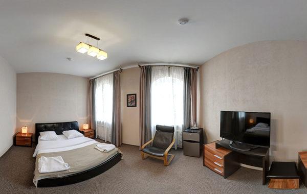 №5 «Стандарт» двухместный, 1 двуспальная кровать