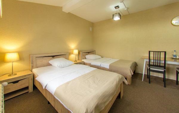 №35 «Комфорт». Две полутороспальные кровати и диван